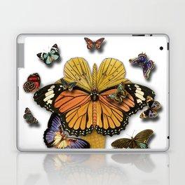 BUTTERFLIES ICE CREAM Laptop & iPad Skin