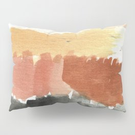 Abstract in Rust n Clay Pillow Sham
