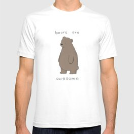Bears are Awesome  T-shirt