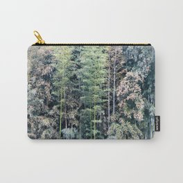 Temple Bamboo Carry-All Pouch