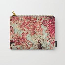 Autumn Inkblot Carry-All Pouch