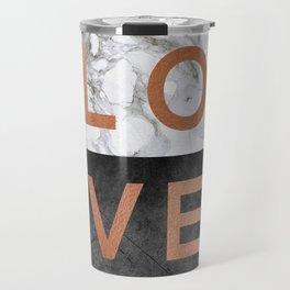 Love Copper Travel Mug