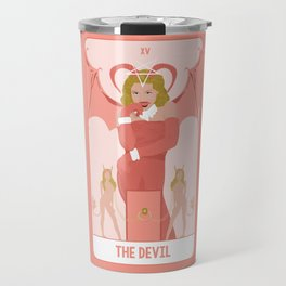 Tarot Card XV: The Devil Travel Mug