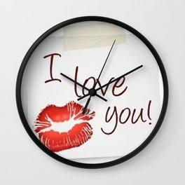 Love San Valentine Wall Clock