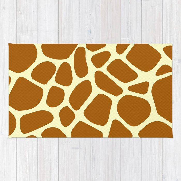 Giraffe pattern II Rug