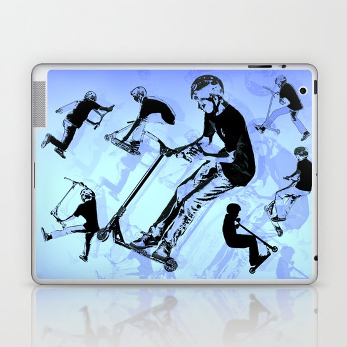 It's All About The Scooter! - Scooter Tricks Laptop & iPad Skin