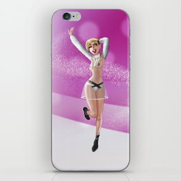 Miley iPhone Skin