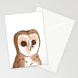 Sweets the owl Stationery Cards