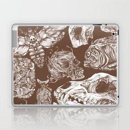 Bones in Brown Laptop & iPad Skin