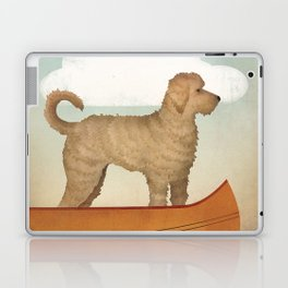 Doodle Goldendoodle Labradoodle Canoe Fowler Laptop & iPad Skin