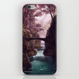downstream iPhone Skin