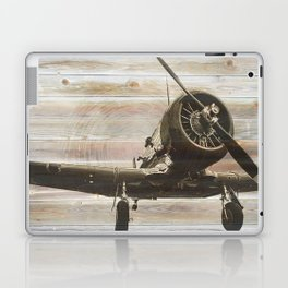 Old airplane 2 Laptop & iPad Skin