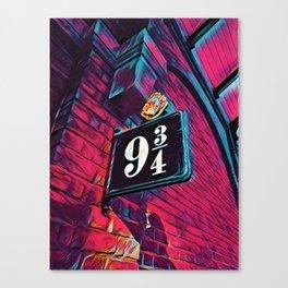 Platform 9 3/4 Canvas Print