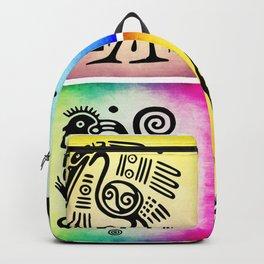 Tribal Symbols 02 Backpack