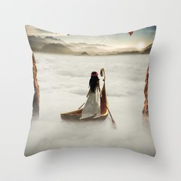 Claymore Throw Pillow
