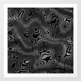 Ramecam Grey #7 Art Print