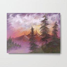 Sunsetrip Metal Print