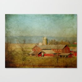 Just Over Yonder Canvas Print