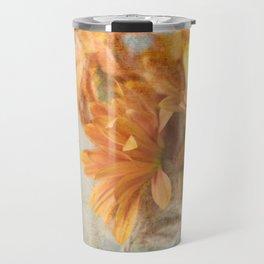 Mason Jar Daisy Bunch Travel Mug