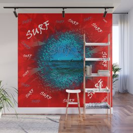 Surf #### Wall Mural