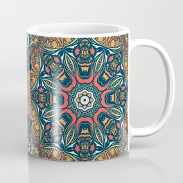 Ethnic mandala (Fire) Coffee Mug