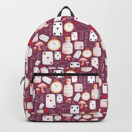 Alice in Wonderland - Purple Madness Backpack
