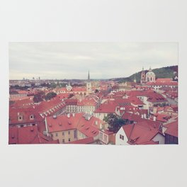 Prague Czech Republic Photography Rome Italy Sale Wall Decor Art Square Print Set Rug