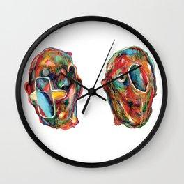 2Acres1Moles Wall Clock