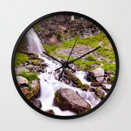 Plaikni Falls Wall Clock
