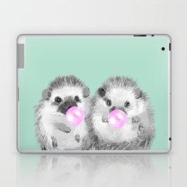 Playful Twins Hedgehog Laptop & iPad Skin