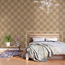 Gypsy Caravan Mandala Wallpaper
