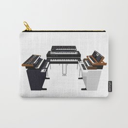 Vintage Keyboards / Synthesizers Carry-All Pouch