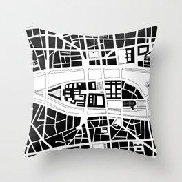 Île de la Cité. Paris Throw Pillow