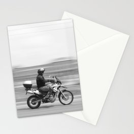 Speed Motor in town Stationery Cards