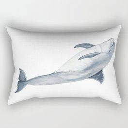 Bottlenose dolphin Rectangular Pillow