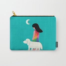As Time Passes By Carry-All Pouch