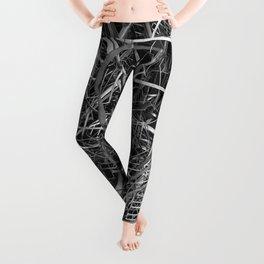 metal line Leggings