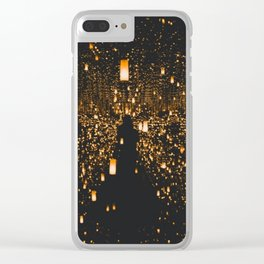Lighted Lanterns Clear iPhone Case