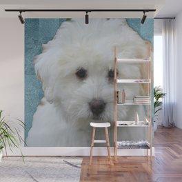 Cute Puppy Wall Mural