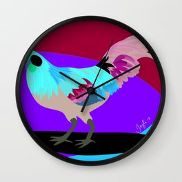The Rooster Wall Clock