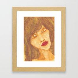 50 shades of brown. Framed Art Print