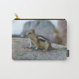 Golden mantled ground squirrel in Jasper National Park | Canada Carry-All Pouch