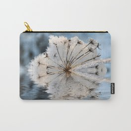 Frosted Cow Parsley  Carry-All Pouch