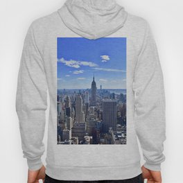 City skyline and Empire State Building Hoody