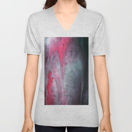 Painted Over a Concrete Feel Unisex V-Neck