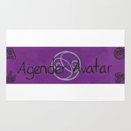 Agender (earth, water, fire, air, spirit) Rug
