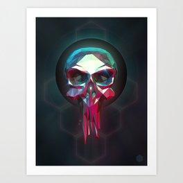 LowPoly Death Art Print