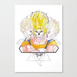 Epic Split - Vegito Canvas Print