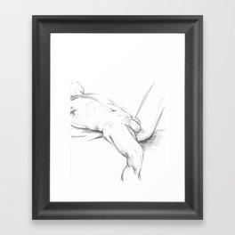 Nude #5 Framed Art Print