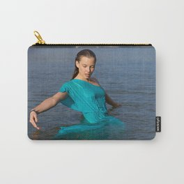 girl on the river Carry-All Pouch